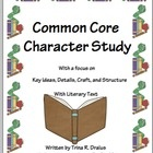 This unit was created after I attended a four day 2012 Common Core Summer Institute. This unit reflects the instructional shifts present in the Common Core in literary fiction. ($8.00)