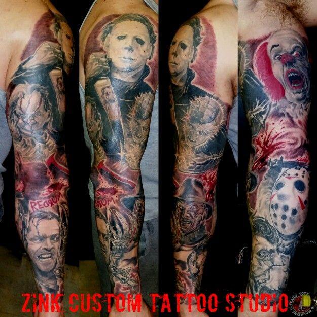 Horror Movie Tattoos Tattoos: 66 Best Tattoos Images On Pinterest