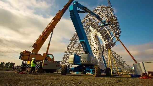 The Helix is extremely proud to present 'The Kelpies', a timelapse short film by award winning filmmaker Walid Salhab. Using a unique hyperlapse technique, this video features footage captured within a live construction site.  Filming under these conditions is rarely possible; filming under these conditions using the hyperlapse technique is close to impossible. Created from over 60 days of stop-motion filming across 7 months, and tracking construction through to completion, this film uses...