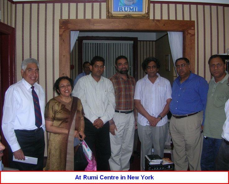 Hamid Yazdani in NY