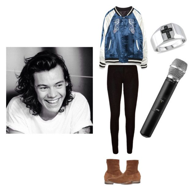 """Harru Styles  "" by trisachairunnisa on Polyvore featuring Zara, Pete Sorensen and Ice"