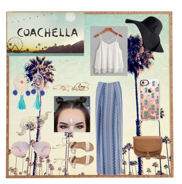 Coachella 🌸 by minhkhanhvu on Polyvore featuring polyvore, Boohoo, Hollister Co., Tommy Hilfiger, Red Camel, GUESS, Casetify, AC/DC, fashion, style and clothing