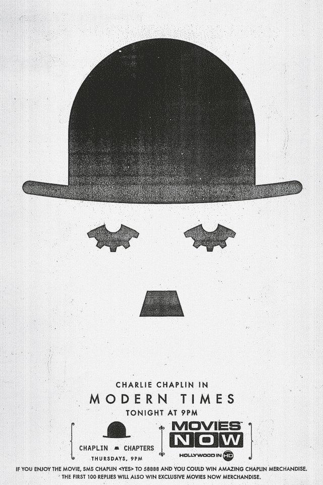 Charlie Chaplin's MODERN TIMES (1936)