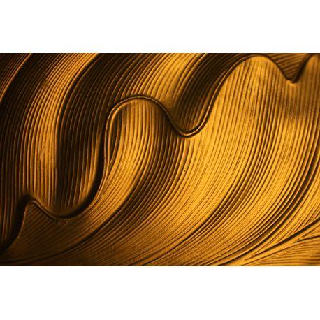 Obraz na płótnie - Abstrakcyjna struktura - dostępny w rozmiarach 150x100, 120x80, 90x60, 70x45, 60x40 i 40x26 cm #fedkolor #abstrakcja #struktura #kształty #abstrakcyjne #żółte #pomarańczowe #obraz #na #płótnie #wydruk #zdjęcia #fotografie #wydrukuj #drukowanie #ozdoba #dekoracja