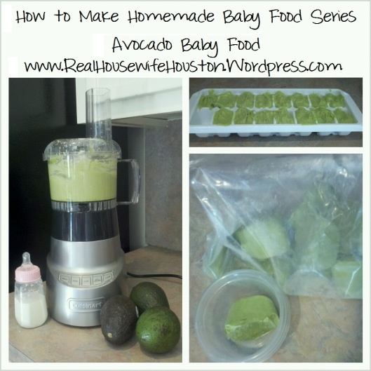 Homeade Baby Food. 6 months is just around the corner!