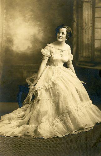 Antique Wedding Gown