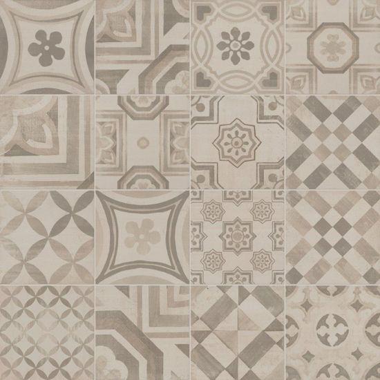 Oud Hollandse Keuken Tegels : Keope Cementine Warm