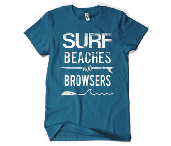 surf beaches not browsers