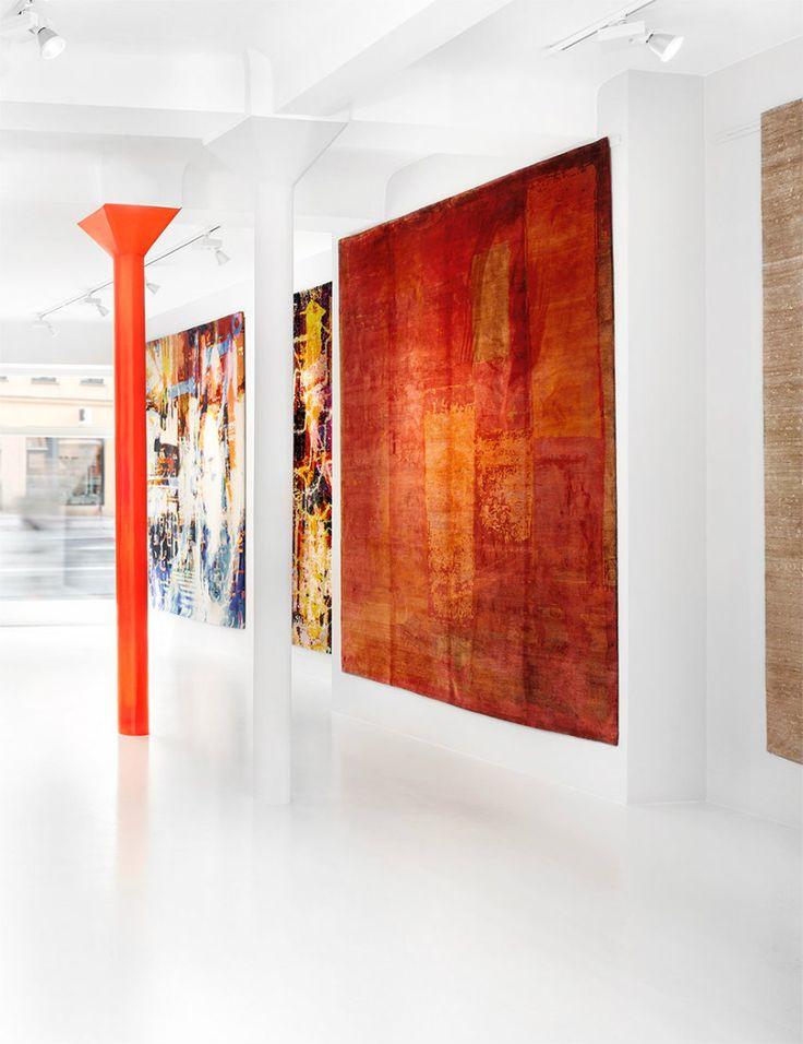 Jan Kath Teppiche – eine Reise um die Welt | Finden Sie alle  über den moderne Orientteppiche von diesem Designer aus Bochum und erreichen Sie ein Reise um die Welt Ticket. wohn-designtrend.de/