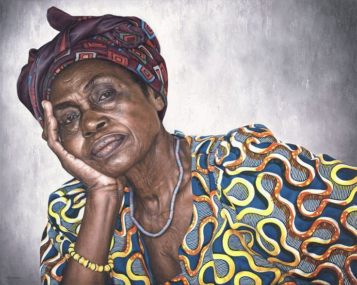 Holly Kavonic- amazing paintings inspired by Africa