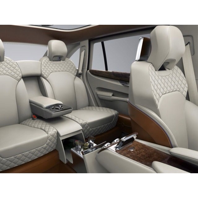 Bentley Luxury Car Inside: Panther Design