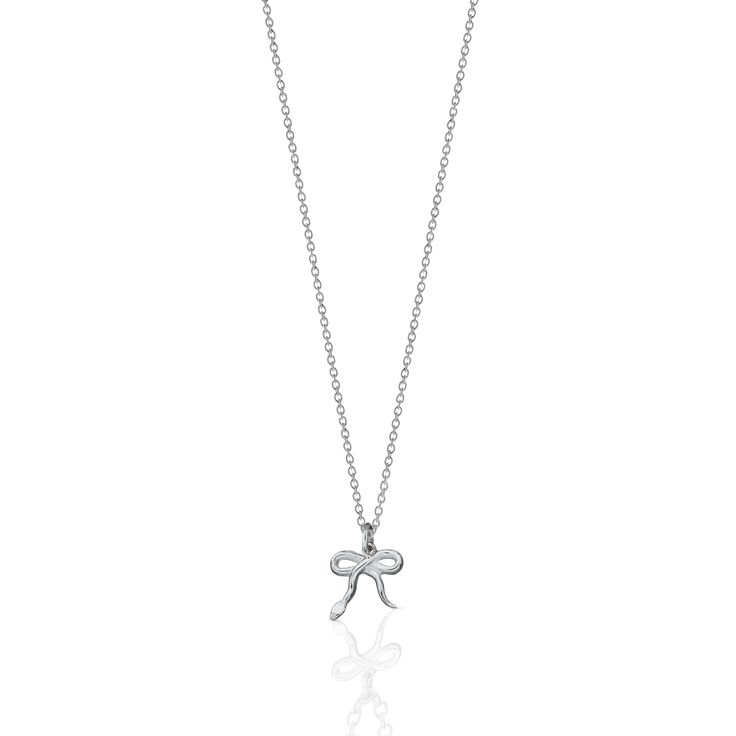 Serpent Charm Necklace Sterling Silver - Meadowlark Jewellery