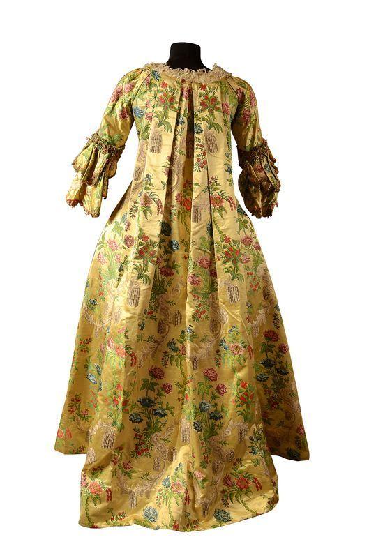 French Silk Dress, 1740