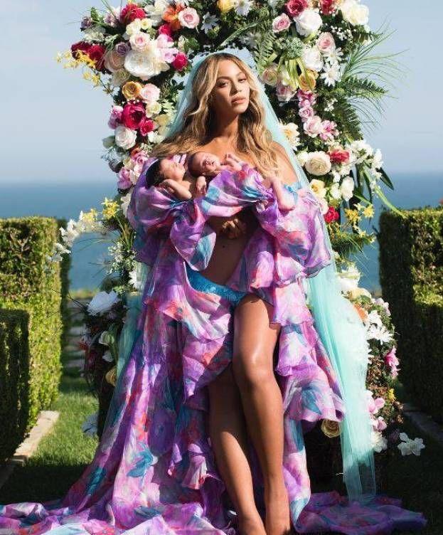 Beyonce presenta a sus gemelos envuelta de glamour – El Mundo es Curioso