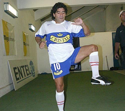 Diego Armando Maradona, UC.