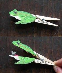 Fabriquer des marionnettes avec des pinces à linge | Agencema