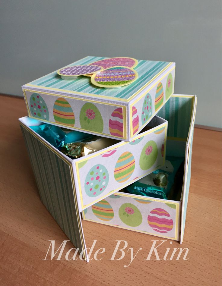 11 pinterest easter gift box made by kim negle Gallery