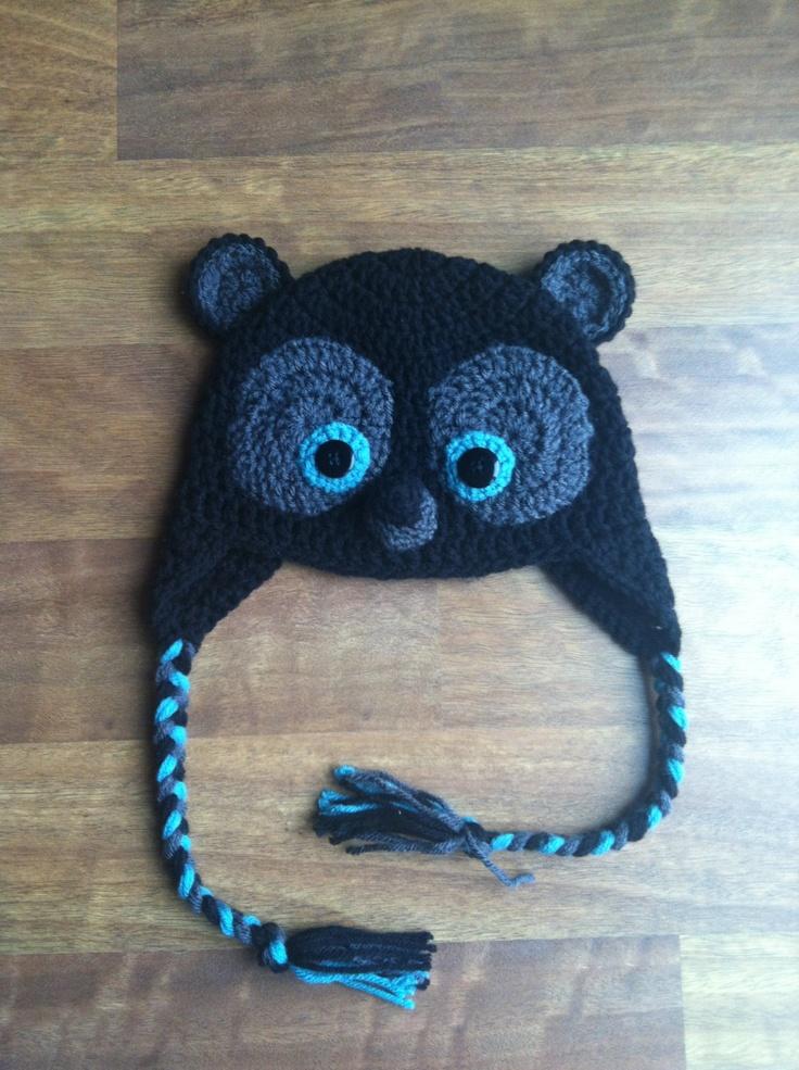 Disney Brave Merida Little Brother Bear styled crochet Hat. $25.00, via Etsy.