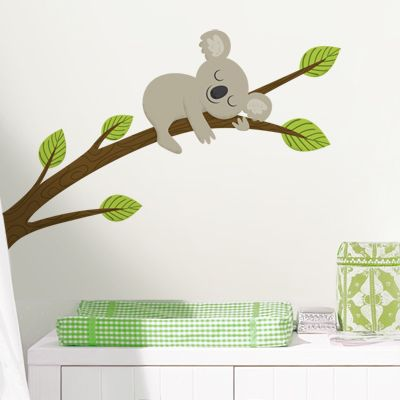 We got Emme's custom wall decal from dalidecals.com - I wish we had a reason to get this stock decal - too cute!