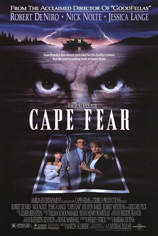 Cape Fear - Martin Scorsese (1991). Come out, come out, where ever you are....