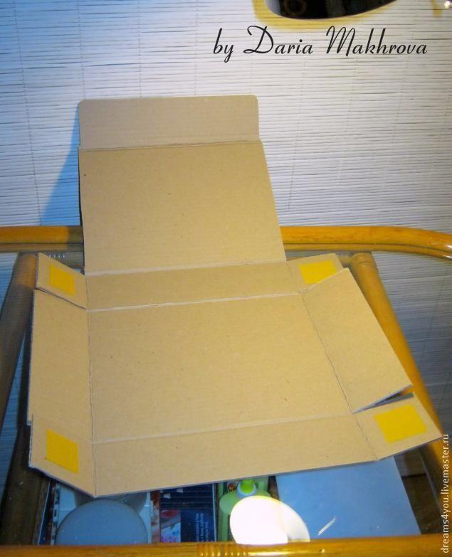 Коробка для подарка своими руками – быстро и просто - Ярмарка Мастеров - ручная работа, handmade