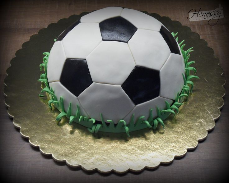 Focilabda torta - Football cake