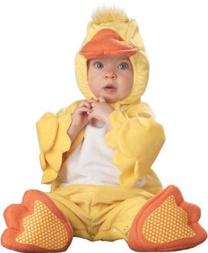 Infant Little Ducky Costume (Size:18-24M), Dress up your baby in this precious Lil' Duck costume. Our infant duck outfit is great for baby's first Halloween, #Apparel, #Baby Boys