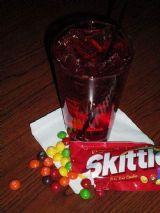 Skittles drink Cap'n Morgan style ;)