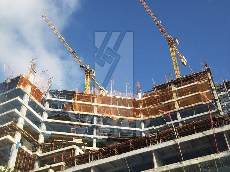 Prevenci n de riesgos laborales en obras de construcci n for Redes de proteccion