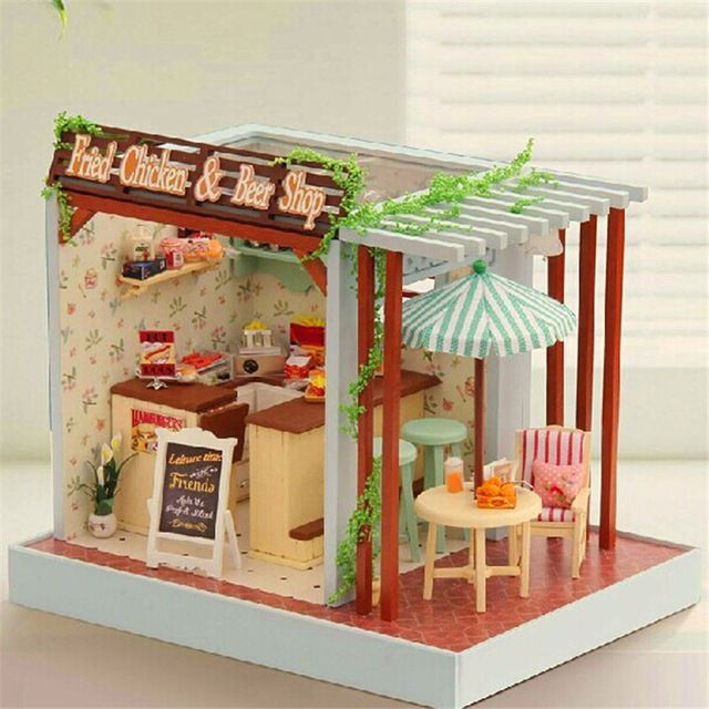 Miniature Dollhouse Beer Shop