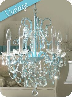 interior design ideas for girls bedroom vintage shabby chic bedroom ideas love the blue on this chandelier