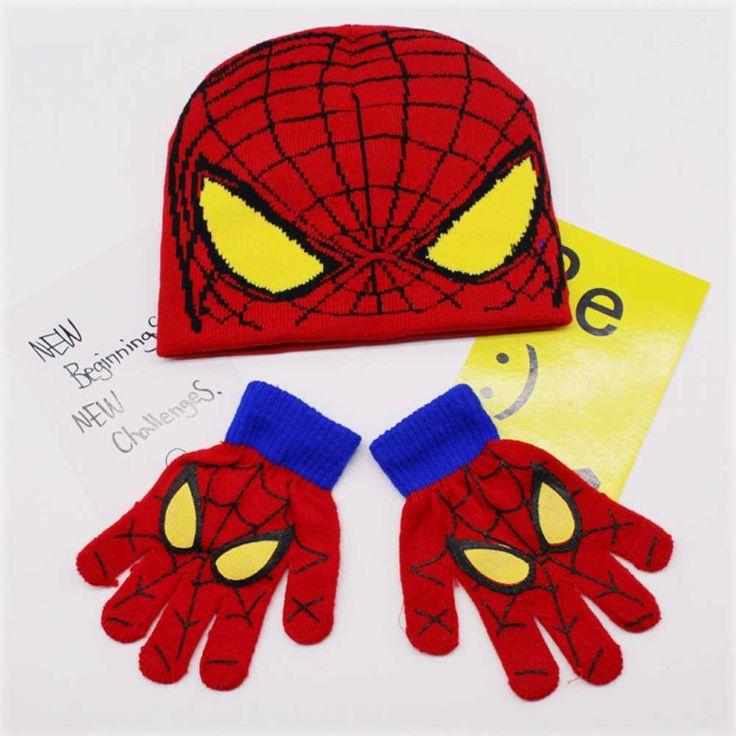 $7.12 (Buy here: https://alitems.com/g/1e8d114494ebda23ff8b16525dc3e8/?i=5&ulp=https%3A%2F%2Fwww.aliexpress.com%2Fitem%2F1-Set-Knitted-Hats-Beanies-Gloves-For-Kid-Girls-Boys-Cartoon-Spaider-Man-Autumn-Winter-Warm%2F32800182848.html ) 1 Set Knitted Hats Beanies Gloves For Kid Girls Boys Cartoon Spaider Man Autumn Winter Warm Ear Caps Skullies for just $7.12