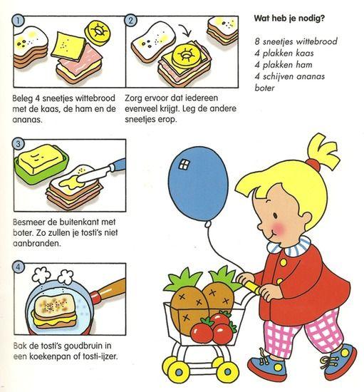 Koken met kleuters!   tosti's