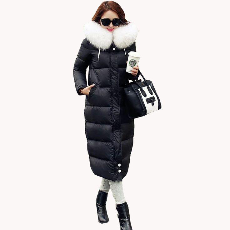 Купить товарКорейский женское длинная толстый утиный пух куртка роскошь тяжёлый волосы воротник приталенный зима пальто тёплый женщины куртка JY 831 в категории Пуховики и паркина AliExpress.            2015 новых корейских женщин длинные густые утка пуховик Роскошные  Тяжелые волосы воротник стройная зим