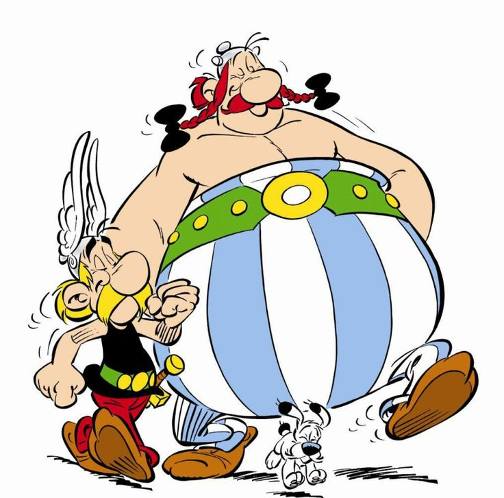 Asterix Obelix GRS says: HUGE fan! Discovered Asterix and Obelix in my thirties, in the 80's and read them avidly for twenty years. I don't have any at the moment though but have such fond memories of the wit and humour and wonderfulness of these stories.