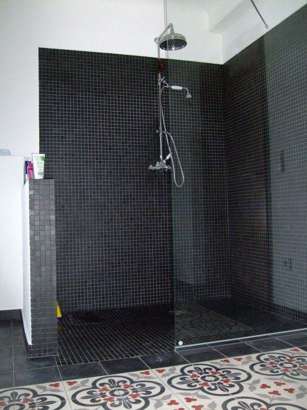 Douche italienne : 33 photos de douches ouvertes | Bathroom | Salle ...