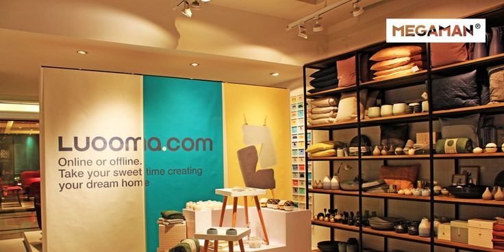 MEGAMAN LED Lighting Solutions have been chosen by LUOOCA.com for their flagship store in #Shanghai, #China, offering the advantages of brilliant colour rendering, energy efficiency and visual comfort.  #MegamanProjects #RetailLighting #ShopLighting #LEDlighting #LightingProjects #InteriorDesign