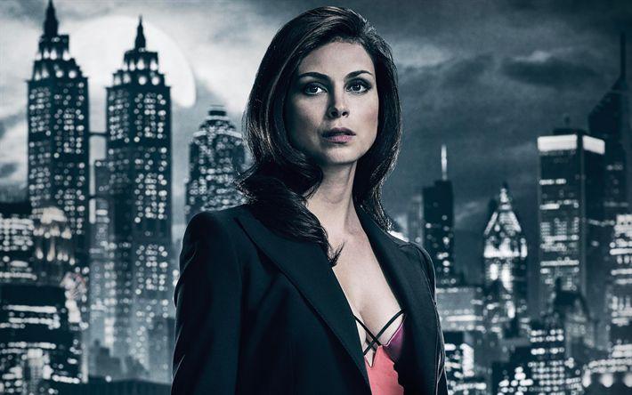 Télécharger fonds d'écran Leslie Thompkins, Gotham, en 2017, des films, des séries TV, Morena Baccarin