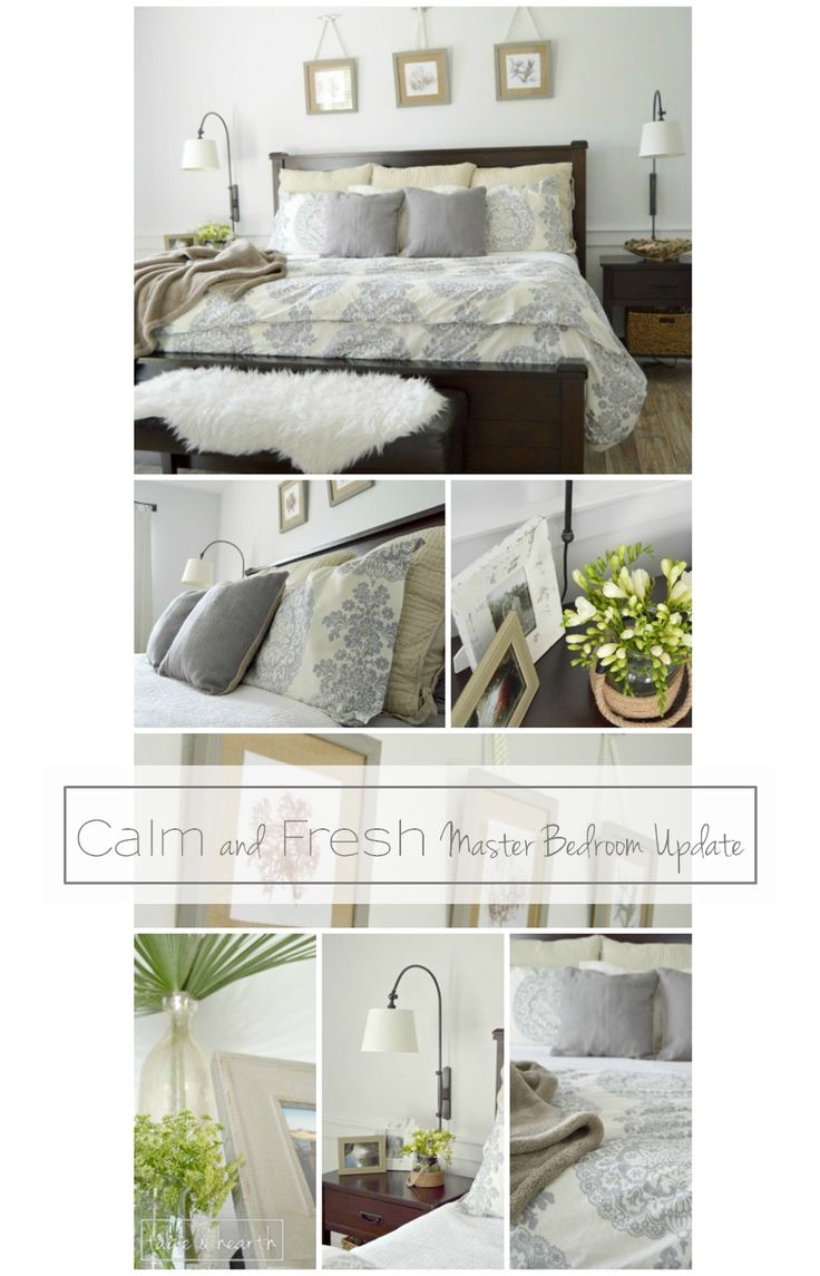 A Calm Fresh And Relaxing Master Bedroom Makeover With Just Little Touch