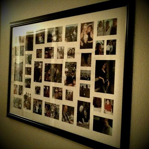 Large Collage Picture Frames | More Photo Junk , Originally Uploaded By  A!ison .