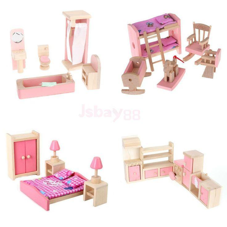 Best 25 Wooden Dolls House Furniture Ideas On Pinterest