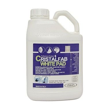CRISTALFAB WHITE PAD is a next-generation crystallization cream to use for crystallizing marble, granite, and polished lime-based materials. https://marblecleaning.live/2017/01/12/cristalfab-white-pad-stock-up-now-with/