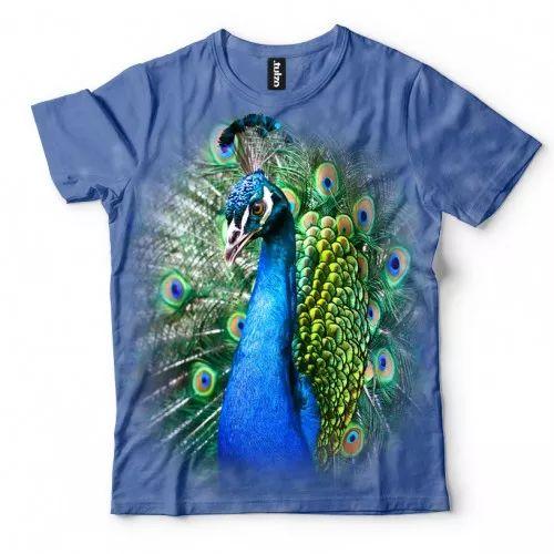 Koszulka z pawiem  | Koszulki 3d | Koszulka 3d | t-shirt 3d | t-shirts 3d…