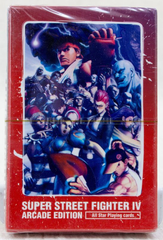 Street Fighter IV 4 Arcade Edition Trump Playing Cards Capcom JAPAN GAME
