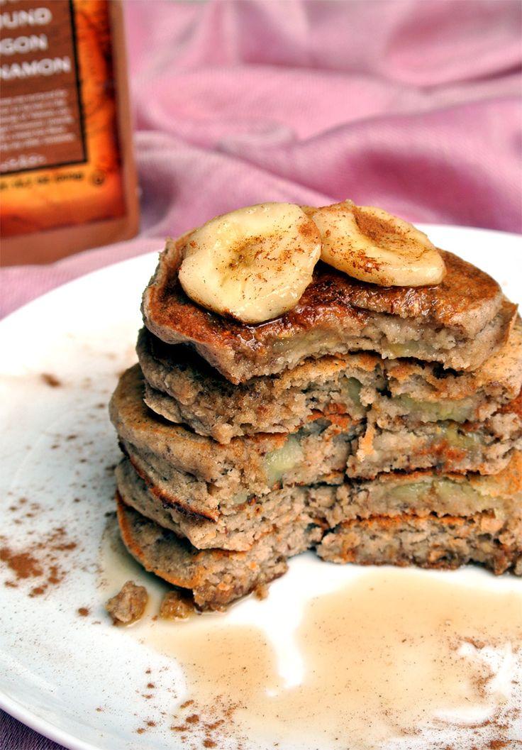 Pancake Fridays: Banana Buckwheat Pancakes Yield: 5 pancakes  Serving Size: 1 pancake  Calories per serving: 55