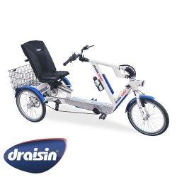 SLIDER Sitz Dreirad mit Heinzmann Motor, Elektromobile Dreirad Händle