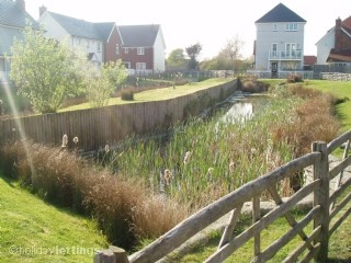 Marsh View Cottage in Camber Sands, Rye East Sussex is located on the prestigious,award winning White Sand development