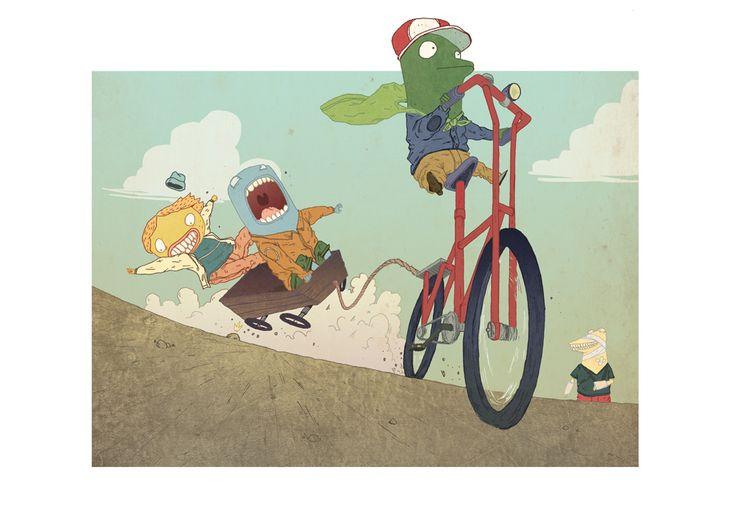 #illustration #bologne #jeoffreymagellan