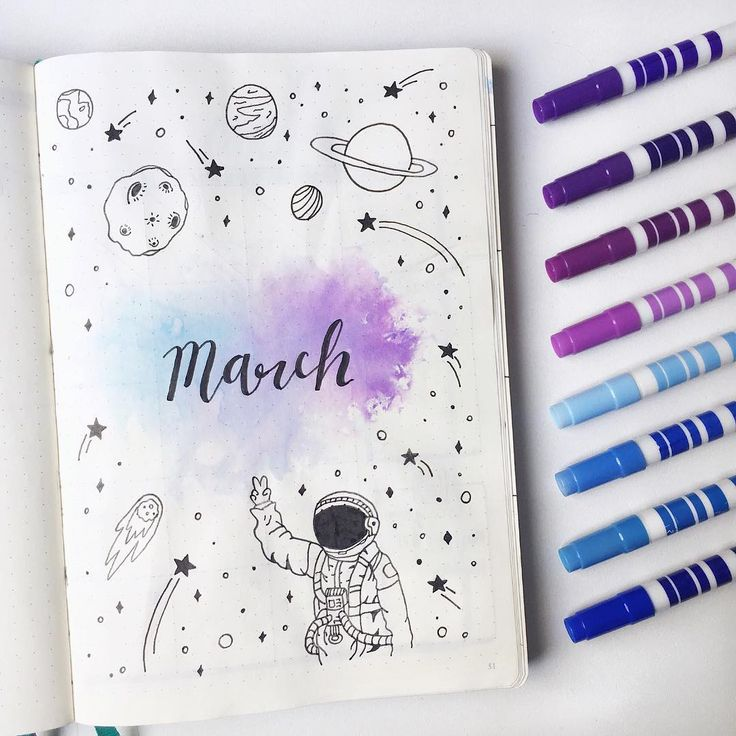 20+ March Bullet Journal Spreads and Plan with Me video