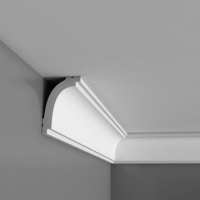 Orac Bassixx range of polystyrene coving, cornice and panel mouldings. Fantastic choice of styles and easy to install. Free Samples are available and fast UK delivery.